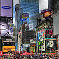 Times Square Poster by Joe Paniccia