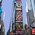 Times Square NYC Print by Kelley King