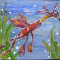 Tiny Anthropomorphic Sea Dragon 2 Poster by Michelley QueenofQueens