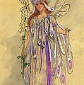 Titania Queen of the Fairies A Midsummer Night's Dream Print by C Wilhelm