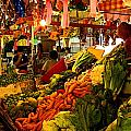 Tlaquepaque Market Stall Poster by Olden Mexico