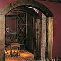 To The Wine Cellar Print by Renee Trenholm