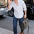 Tom Cruise Carrying A Filson Bag Poster by Everett