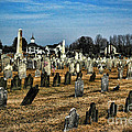 Tombstones Print by Paul Ward