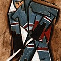 Tommervik Hockey Player Print by Tommervik