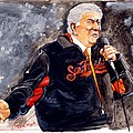 Tony Bennett sings 'God Bless America' at World Series Print by Dave Olsen