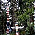 Totem Poles Poster by Will Borden