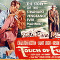 Touch Of Evil, Charlton Heston, Janet Poster by Everett