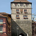 Town gate Schwarzes Tor in Rottweil Germany Poster by Matthias Hauser