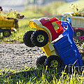 Toy Truck Planters Poster by Gordon Wood