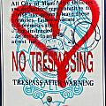 Trespassing Poster by Anahi DeCanio