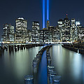 Tribute In Light Print by Evelina Kremsdorf