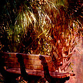 Tropical Bench Poster by Susanne Van Hulst