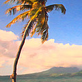 Tropical Island 2 - Painterly Poster by Wingsdomain Art and Photography