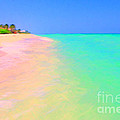 Tropical Island 7 - Painterly Print by Wingsdomain Art and Photography