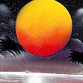 Tropical Sunset Print by Marc Chambers