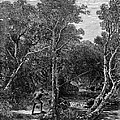TROUT FISHING, 1867 Print by Granger