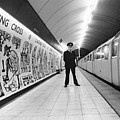 Tube Train Murals Poster by Evening Standard