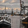 Tugs and Lady Washington Print by Craig Perry-Ollila