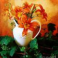 Tuscany Bouquet Poster by Marsha Heiken