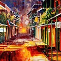 Twilight in New Orleans Poster by Diane Millsap