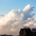 Two Houses One Cloud Poster by Semmick Photo