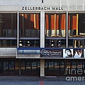 UC Berkeley . Zellerbach Hall . 7D9989 Poster by Wingsdomain Art and Photography