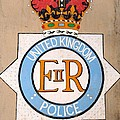 UK Police Crest Poster by Unknown