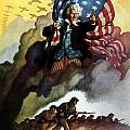 Uncle Sam Buy War Bonds Print by War Is Hell Store