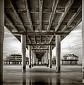 Under the Boardwalk Poster by Dave Bowman
