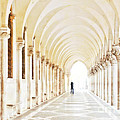 Underneath the Arches Print by Marion Galt