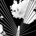 Underneath the Zakim Poster by Andrew Kubica