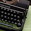Underwood Poster by Valerie Morrison