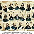 Union Commanders of The Civil War Print by War Is Hell Store