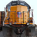 Union Pacific Locomotive Trains . 7D10589 Print by Wingsdomain Art and Photography