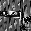 Union Square West Print by Susan Candelario
