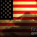 United States of America . Land of The Free Print by Wingsdomain Art and Photography