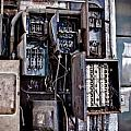 Urban Decay  Fuse Box Print by Edward Myers