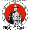 US Army First Division Print by War Is Hell Store