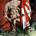 US Army World War Two Print by War Is Hell Store