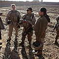 U.s. Marines In Afghanistan Assigned Print by Everett