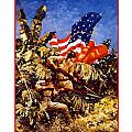 US Marines Poster by War Is Hell Store