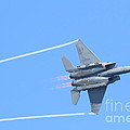USAF F-15 Strike Eagle . 7D7864 Poster by Wingsdomain Art and Photography