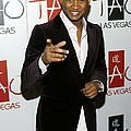 Usher At Arrivals For Tao New Years Eve Poster by Everett