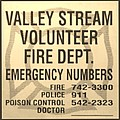 VALLET STREAM FIRE DEPARTMENT in SEPIA Poster by ROB HANS