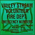 VALLEY STREAM FIRE DEPARTMENT in IRISH GREEN Poster by ROB HANS