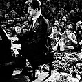 Van Cliburn Is The First Foreigner Print by Everett