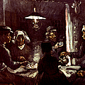 VAN GOGH: MEAL, 1885 Print by Granger
