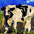Van Gogh.s Big Bull . 7D12437 Poster by Wingsdomain Art and Photography