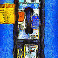 Van Gogh.s Pay Phone . 7D15934 Poster by Wingsdomain Art and Photography